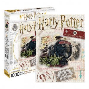 Harry Potter Hogwarts Express Ticket Puzzle 1,000 pieces