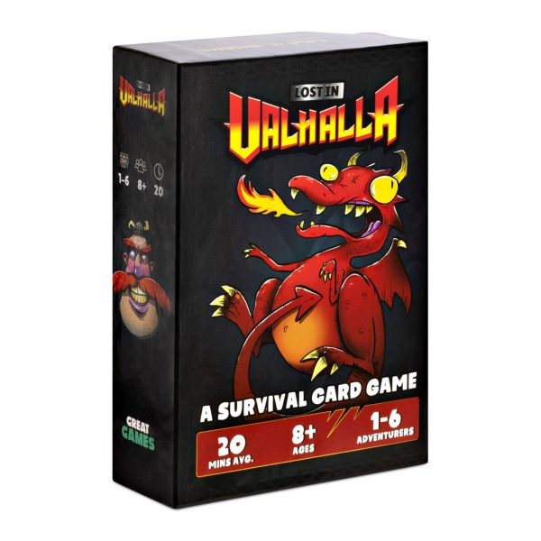 Lost In Valhalla Card Game